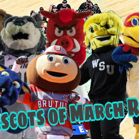 The Mascots Of March Ranked