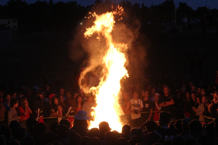 Homecoming Bonfire 2018