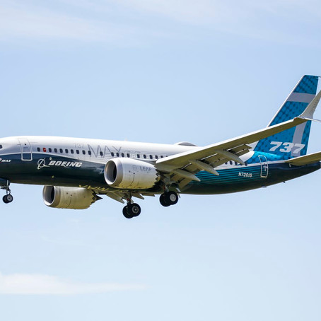 737 MAX BACK IN AIR