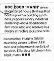 R.O.C Mixmag 2000Mann