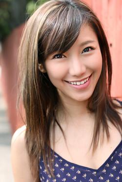 Narisa Suzuki Commercial Brown Hair