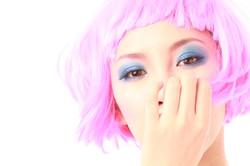 Narisa Suzuki Pink Head