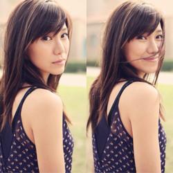 Narisa Suzuki Mustache
