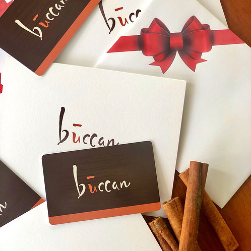 Buccan Gift Card