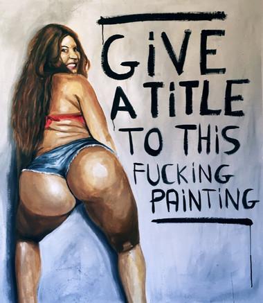 Dê um título a esta merda de pintura