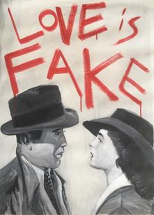 O amor é fake