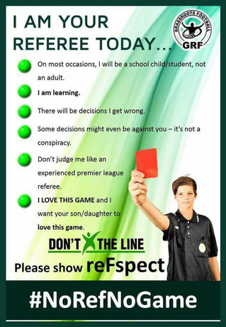 Please show reFspect at matches