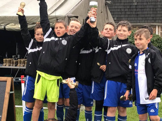 U11 Warriors Retain their Fleur de Lys title