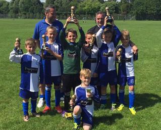 U10 Warriors Win Fleur de Lys Tournament