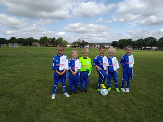 Under 7's ready for their first season