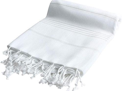 Havluland 100% Turkish Cotton Bath Beach Hammam Towel Peshtemal Throw Foua Blank