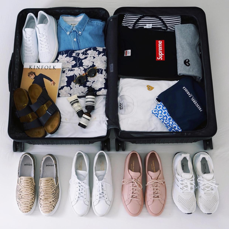 Packing for Barcelona