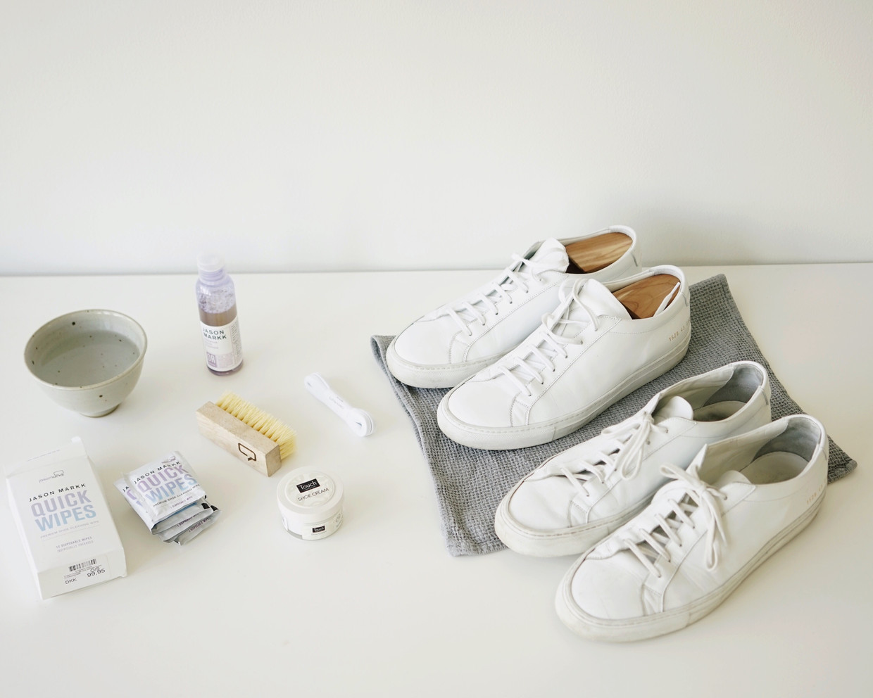 How to clean your sneakers!