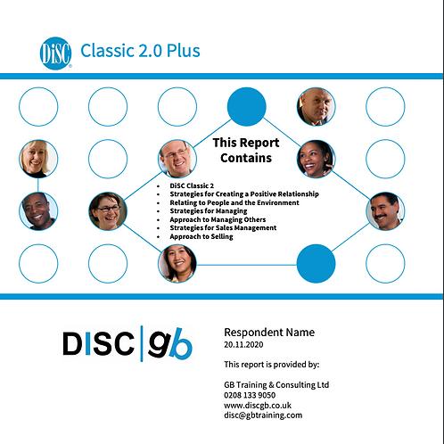 DiSC Classic 2 Plus