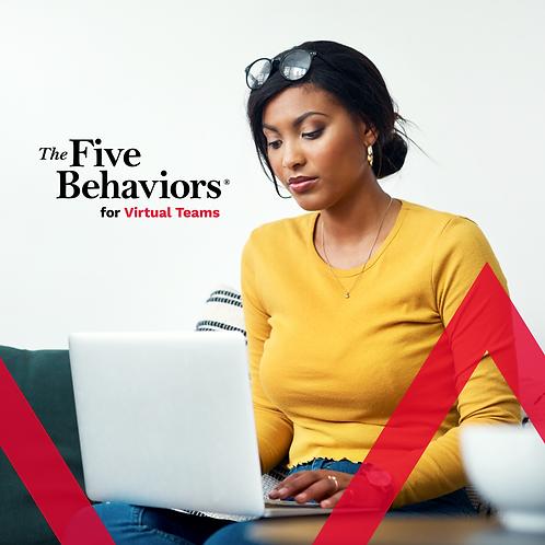 The Five Behaviors for Virtual Teams