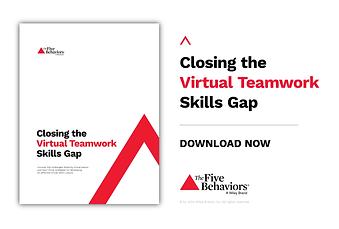 Five Behaviors Virtual Teamwork Whitepap