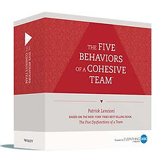 Five Behaviors of a Cohesive team Facilitation Kit