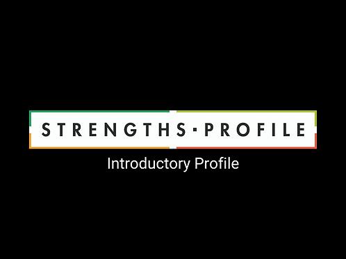 Introductory Profile & Debrief