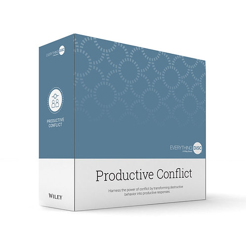 Everything DiSC Productive Conflict Facilitation Kit Box