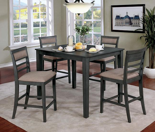 Furniture of America Fafnir 5 Pc. Counter Ht. Table Set