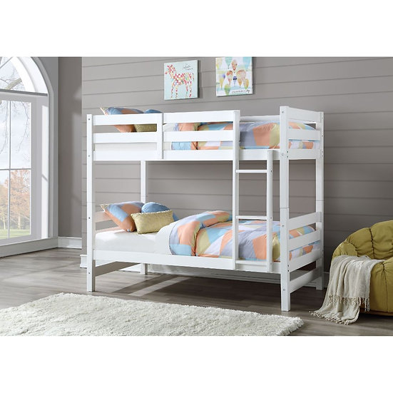 Bunk Bed (Twin/Twin) White