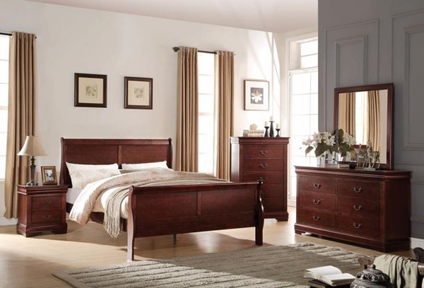 Louis Philippe Full Bed