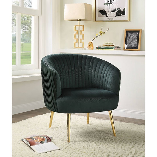 Mid-Century - Velvet accent chair