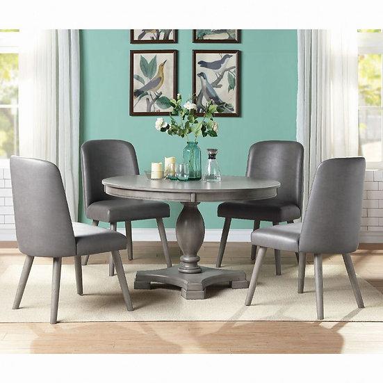 ACME Round Waylon Dining Table set