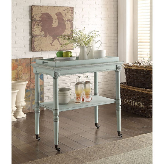 ACME Antique Green Tray Table