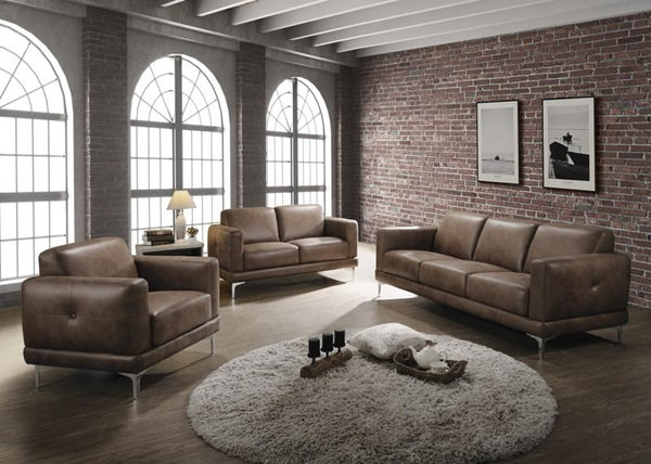 Reagan sofa, loveseat and accent chair living room set