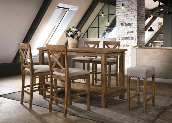 Martha II 5 Pc Counter Height Table