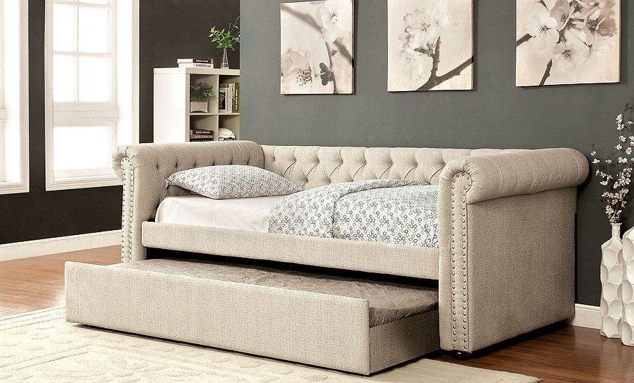 Leanna Queen Daybed w/Trundle