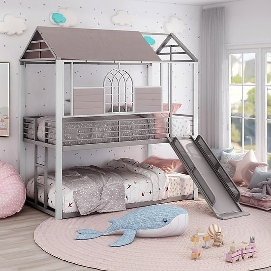 Furniture of America Oscar Twin/Twin Bunk Bed