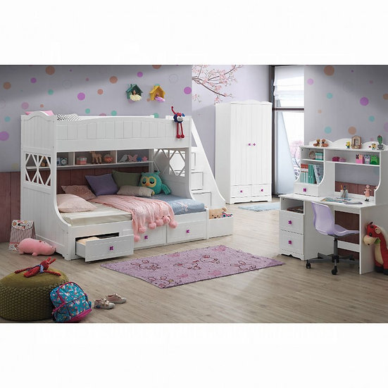ACME Meyer Twin/Full Bunk Bed