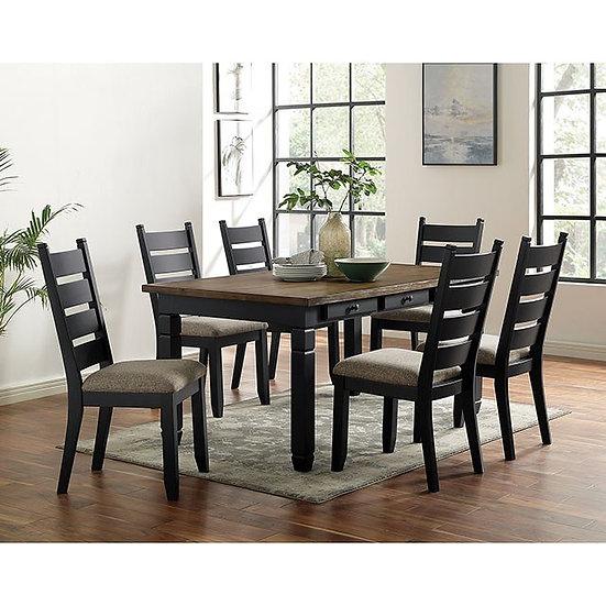 Furniture of America Lynn Lake Dining Table Set