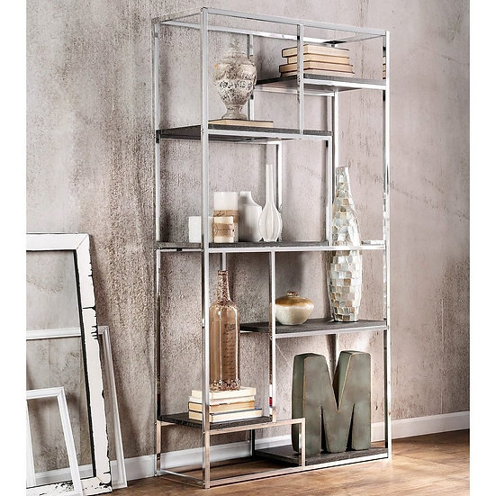 DISPLAY SHELF Chrome