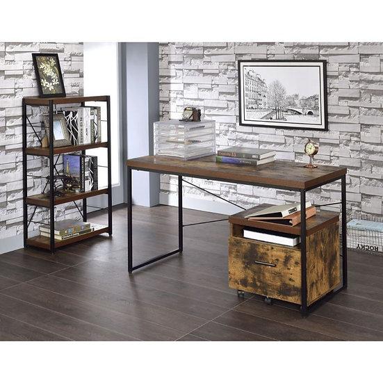 Acme Weathered Oak Desk
