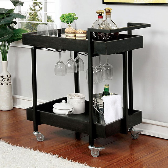 Furniture of America Nera Serving Cart