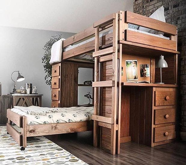 Dream twin/twin loft bed