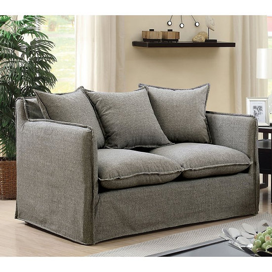 Furniture of America  Rosanna I Love Seat with Pillows