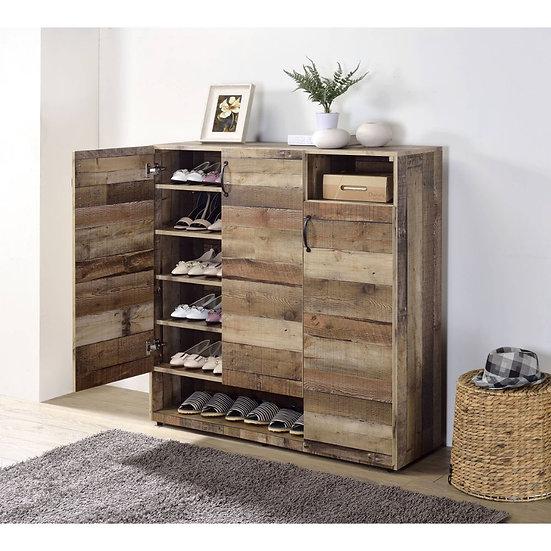 Rustic Gray Oak Cabinet
