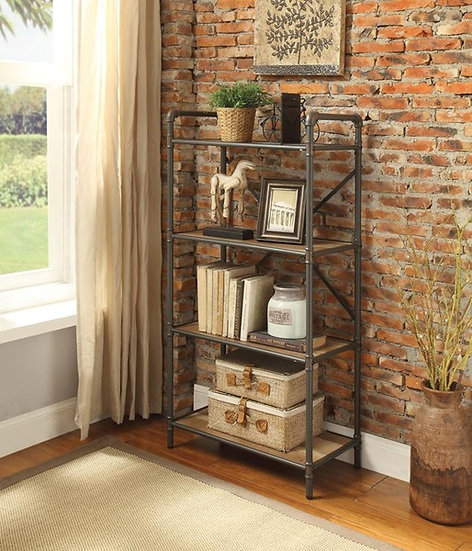 Itzel 4-TIER BOOKSHELF
