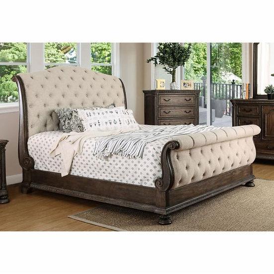 Furniture of America Lysandra Rustic King Bed