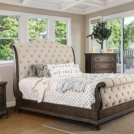 Furniture of America Lysandra Rustic Queen Bed