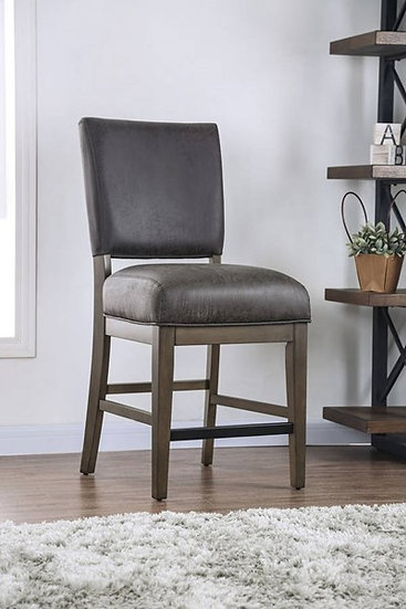 Furniture of America Irving Counter Ht. Side Chair (2/Ctn)