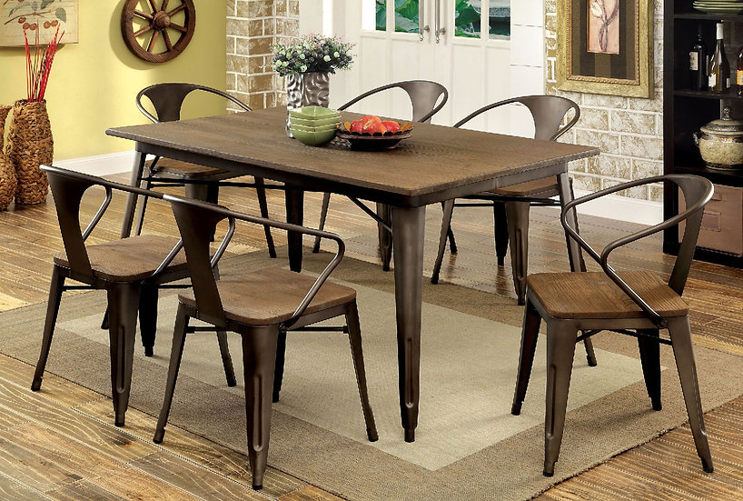Cooper I 7PC Dining Table Set