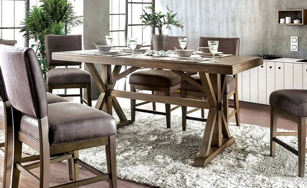 Furniture of America Irving Counter Ht. Table