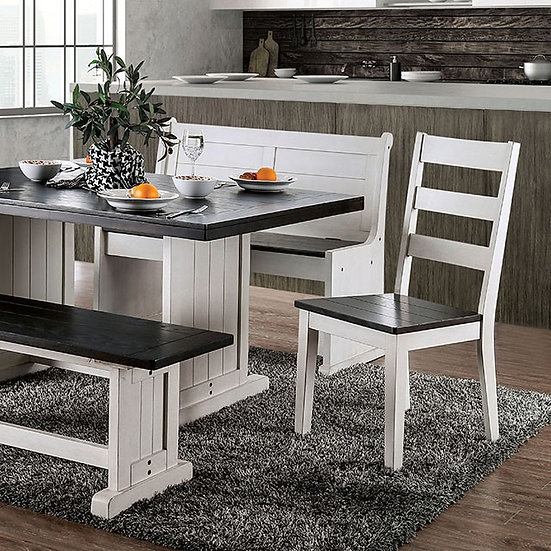 Plank Design Dining Table set