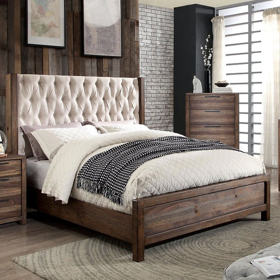 Furniture of America Queen Hutchinson Bed