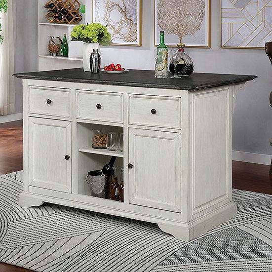 Furniture of America Scobey Kitchen Island